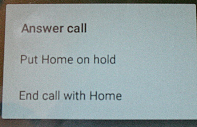 If I answer an incoming call, while IN a call I get a message box with choices as to what to do-img_1179.jpg