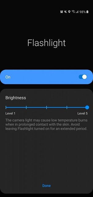 How to turn down the brightness on the j3 achieve flashlight?-screenshot_20191012-141653_one-20ui-20home.jpeg