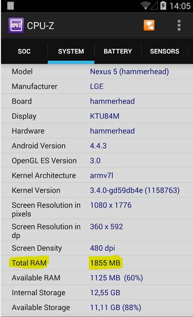 What is the Total RAM of Note 10.1  LTE 2014 After Updated to Kitkat 4.4.2?-temp_cpuz.jpg