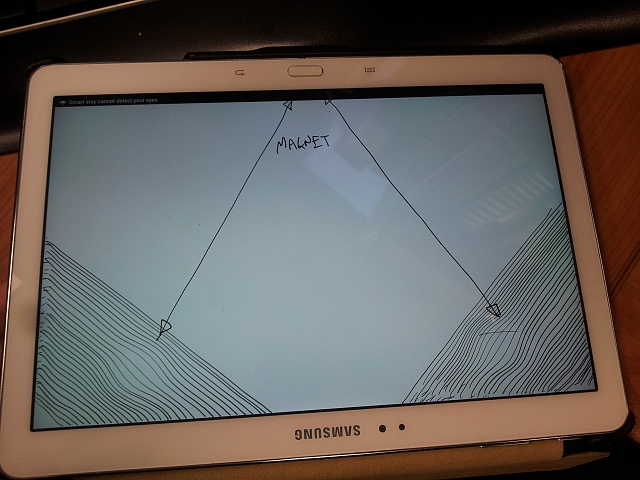 Samsung galaxy Note 10.1 2014 S-pen issues due to magnetic flap case from Icarer-case-1.jpg