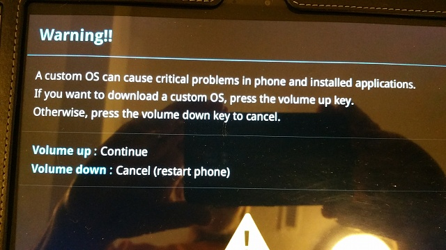 Samsung Tablet 10.1 (2014 ed) Stuck in ODIN Mode - how to get out?-20160627_202022.jpg