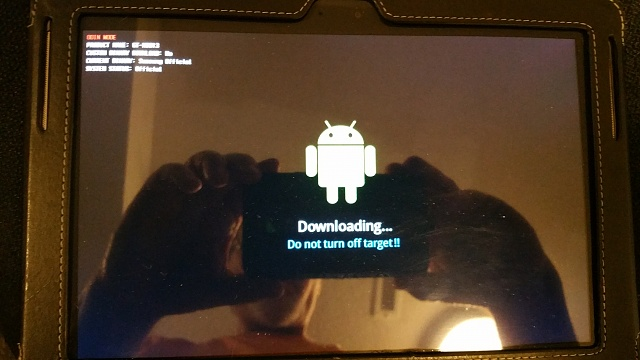 Samsung Tablet 10.1 (2014 ed) Stuck in ODIN Mode - how to get out?-20160627_202031.jpg