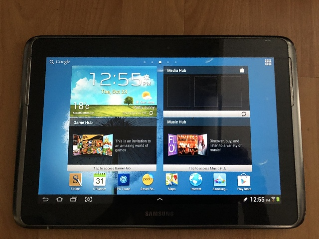 """Stuck on """" Samsung Galaxy Note 10.1"""" Will only reboot, not turn off. Can't flash firmware!-img_0622.jpg"""