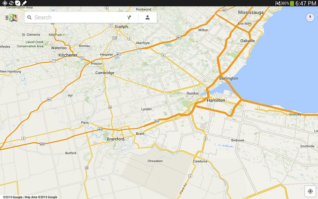 How to search a location and use turn by turn navigation in Google offline maps-screenshots_2013-10-20-18-47-34.jpg