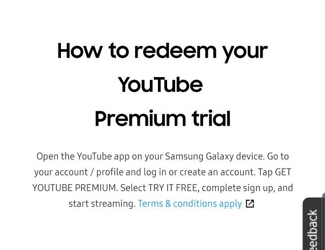 free YouTube premium offer - Android Forums at