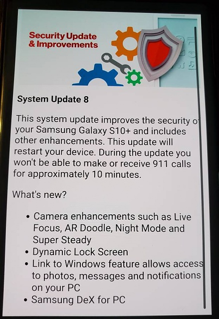 Note 10+ software update/still oct - Page 2 - Android Forums