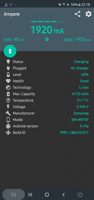 Specs for a 10 ft Note 10+ Fast charge cable-screenshot_20191203-221828_ampere.jpg