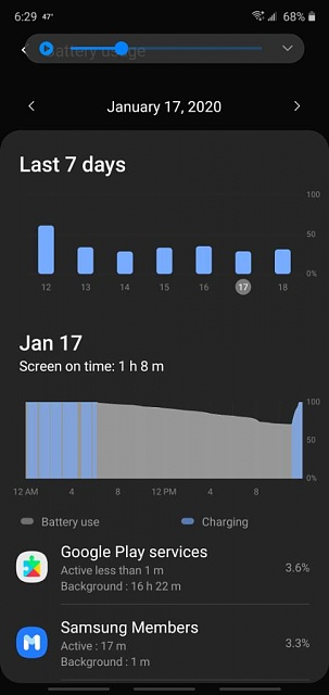 Note 10 wireless charger shutting off after full charge then not turning on to maintain a charge-screenshot_20200118-182916_device-20care.jpeg