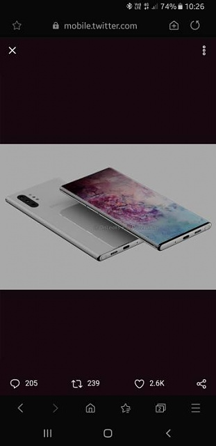 Ice Universe claims the Note 10 will only have one small front camera hole-screenshot_20190611-102606_samsung-20internet.jpeg