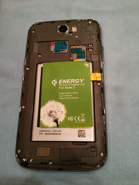 Review Qi Wireless Charger Patch 45 Shipped W Pics
