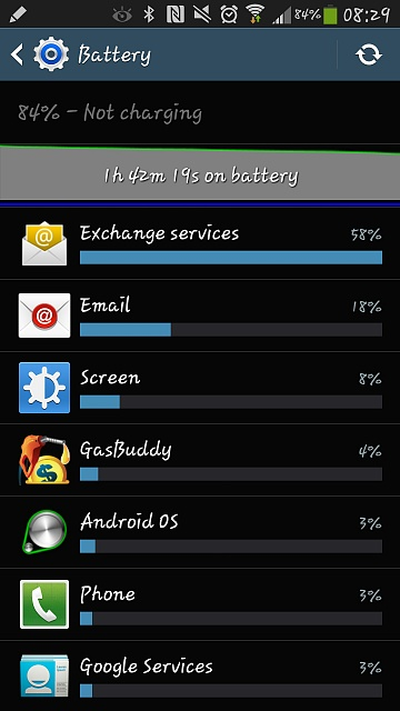 galaxy note 4 battery draining fast