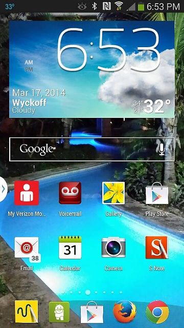 Stock weather app not available on go launcher?-1395097924530.jpg