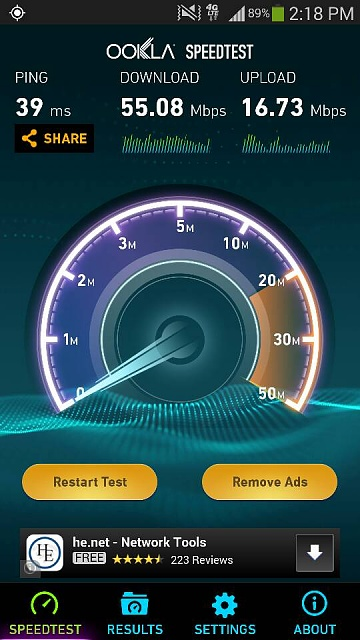 What mobile data speeds are you getting on your note 3?-1403650346816.jpg
