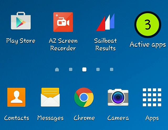 samsung active apps widget for android