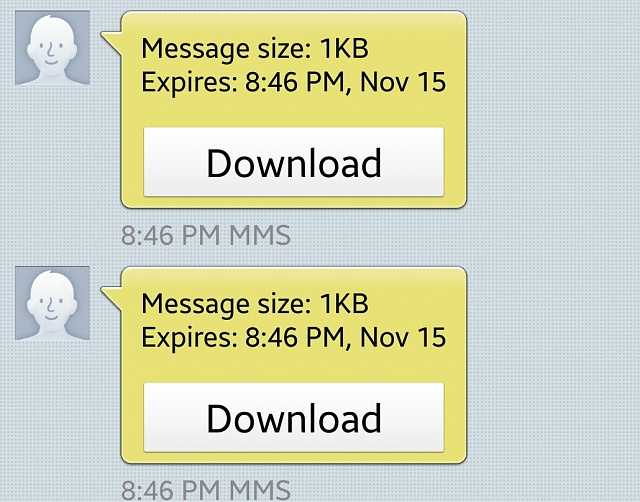 I am receiving text messages that include downloads from people that aren't the ones sending them. What is going on?-edited_screenshot_2015-11-11-21-53-37-1.jpg