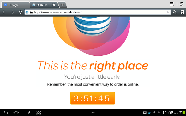 Countdown clock on my AT&T order status page!-screenshot-9-19.png