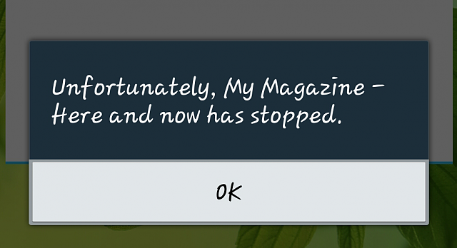 """"""" My magazines has unexpectedly quit.  Keeps crashing what to do-2013-10-11-10-42-01.png"""