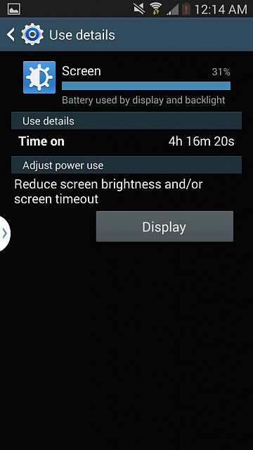 Galaxy Note 3 Battery problem... I think!-uploadfromtaptalk1381645099084.jpg