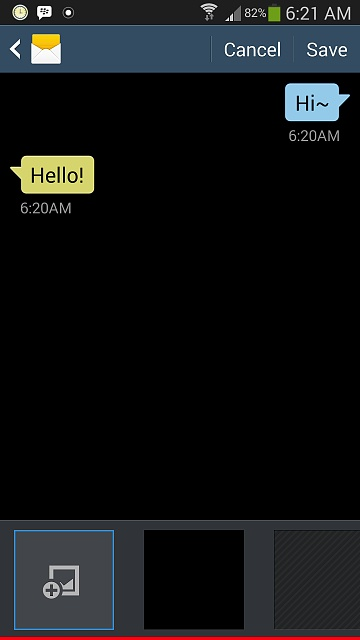 galaxy note 3 way to change background color in messages app
