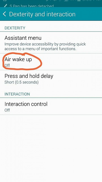 Air gesture sensor is no more on Note 4-1413320851213.jpg