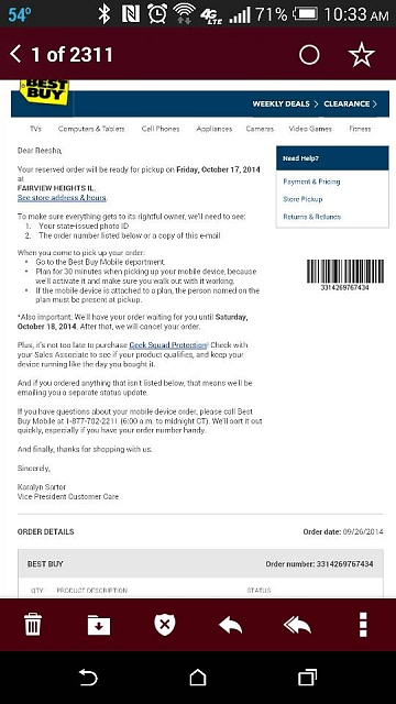 How Long Is A Pre-Ordered Galaxy Note 4 Reserved at Best Buy For Me?-1413474405419.jpg