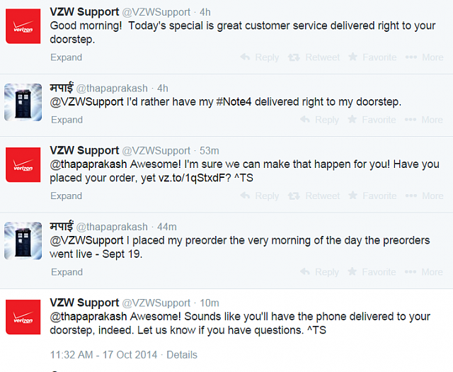 Is the Note 4 coming out on Verizon tomorrow?-1413560586144screencapture.png