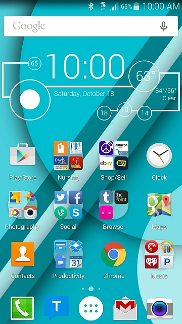 Note 4 Screenshots!  Show use those awesome home screens & more!-uploadfromtaptalk1413640950470.jpg