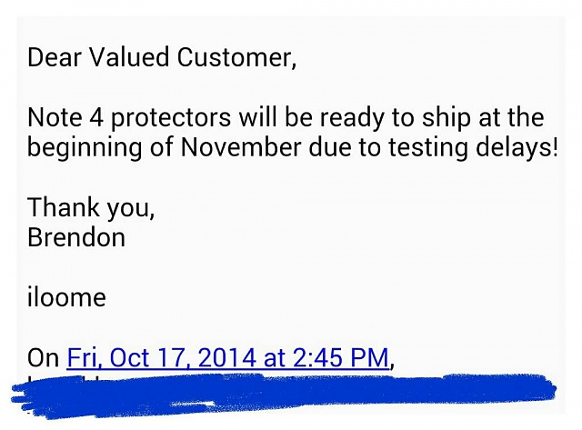 """Will all Note 4 Tempered Glass Screen Protectors have this """"Halo"""" effect?-1413679379602.jpg"""
