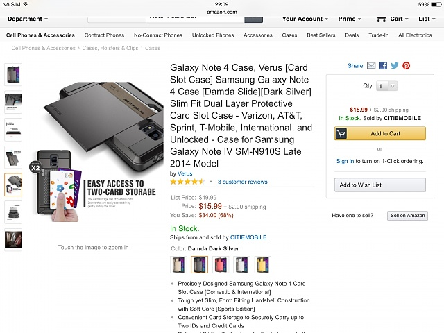 Is there a Note 4 Armoured case with card slot back and front cover that pops on front of the phone?-image.jpg