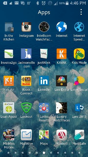 application galaxy note