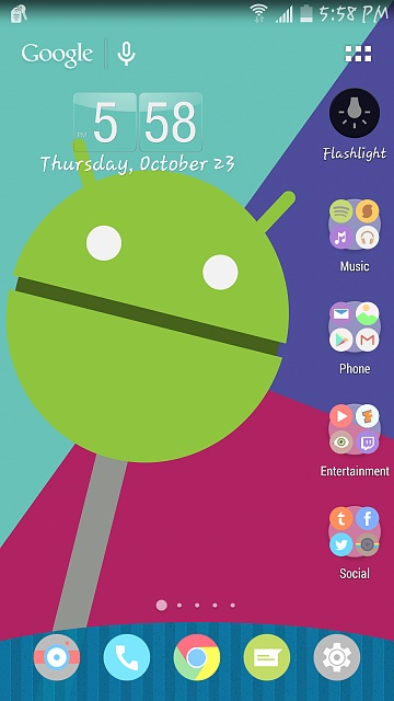 What launcher are you sporting on your note 4-uploadfromtaptalk1414105125617.jpg