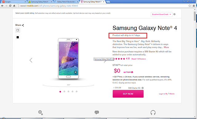 Galaxy Note 4 Backordered at T mobile-note4.png