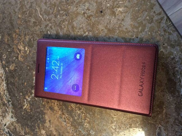 Samsung Galaxy Note 4 how to get s view cover to work with phone?-img_1673.jpg
