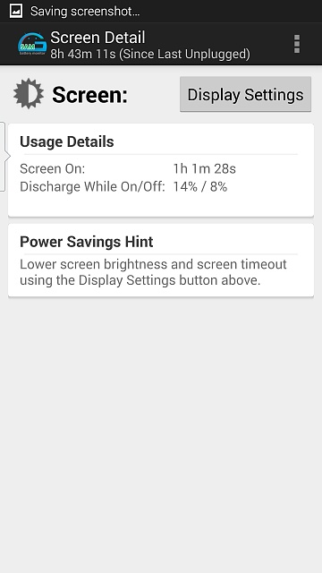 On screen time /battery-uploadfromtaptalk1415112143969.jpg