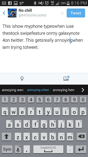 Twitter auto space problem with stock keyboard swipe.-screenshot_2014-11-05-20-16-38.jpg