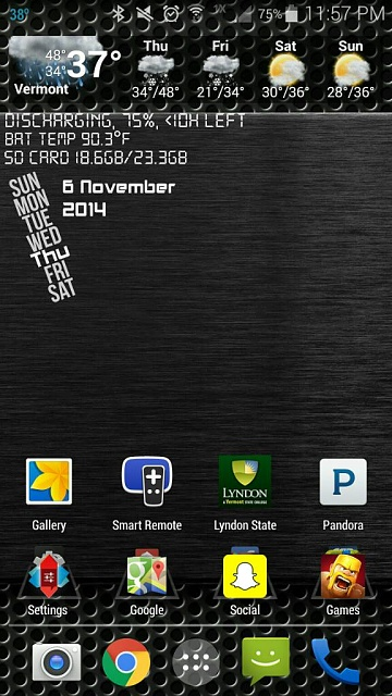Note 4 Screenshots!  Show use those awesome home screens & more!-1415337468569.jpg
