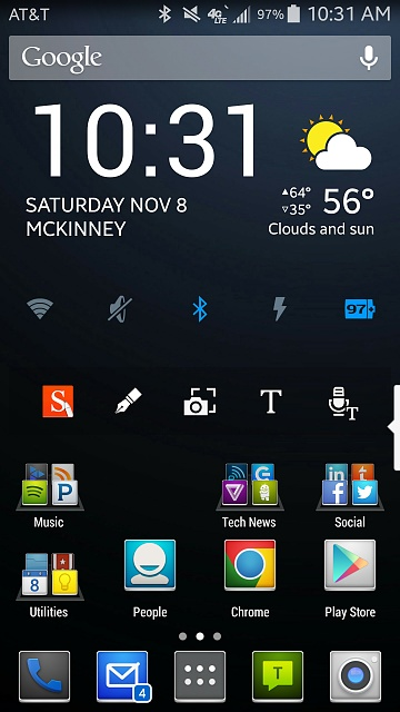 Note 4 Screenshots!  Show use those awesome home screens & more!-uploadfromtaptalk1415468380183.jpg