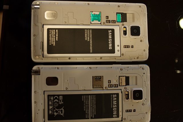 Guide to spot fake/counterfeit Galaxy Note 4 - Android