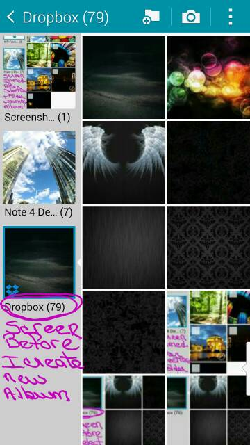 Can't Create Albums in Gallery on my Note 4 (pics are backup to Dropbox )-screenshot_2014-11-21-15-14-19.jpg