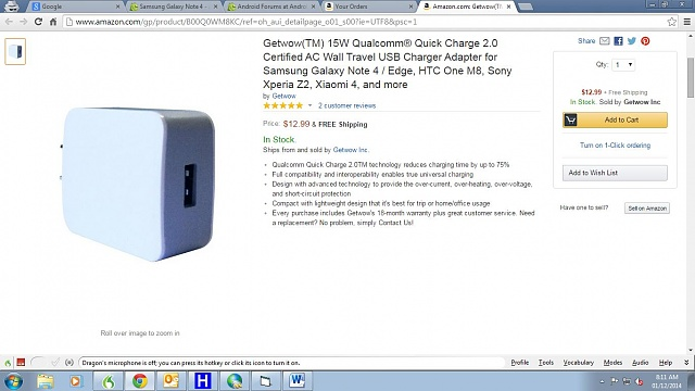 Are there any Car (AKA Cigarette Lighter socket) chargers that supports Note 4's Fast Charge?-2.jpg