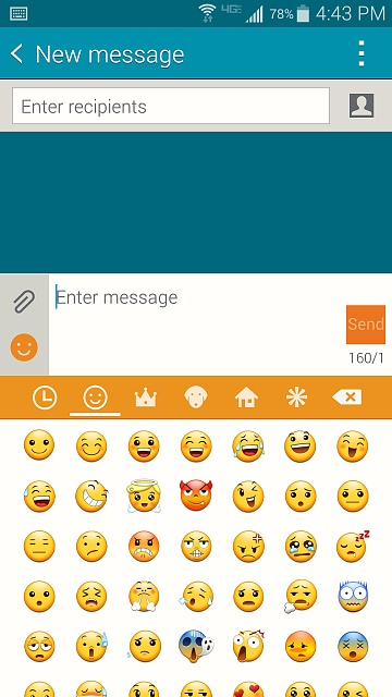 How come people can't see my emoji on Note 4 when texting