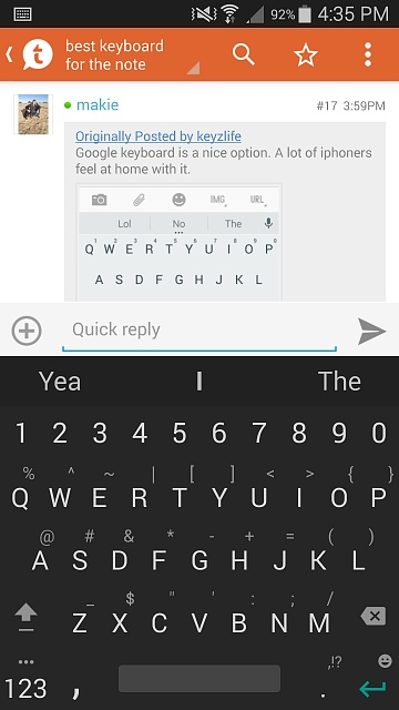 best keyboard for the note 4 android forums at. Black Bedroom Furniture Sets. Home Design Ideas