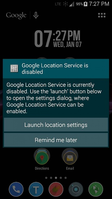'Google Location Service is disabled' alert keeps popping up-1420681351482.jpg