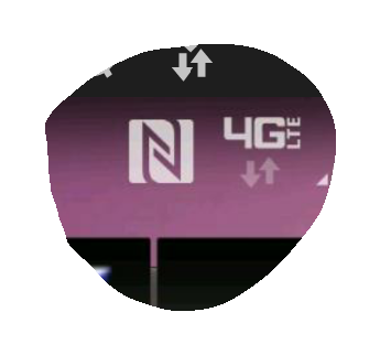 n symbol on android phone