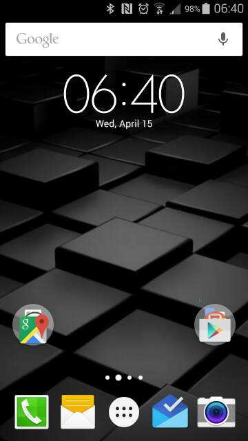 What are you using for your launcher? Any screen shots? Looking for very minimalistic-screenshot_2015-04-15-06-40-45.jpg