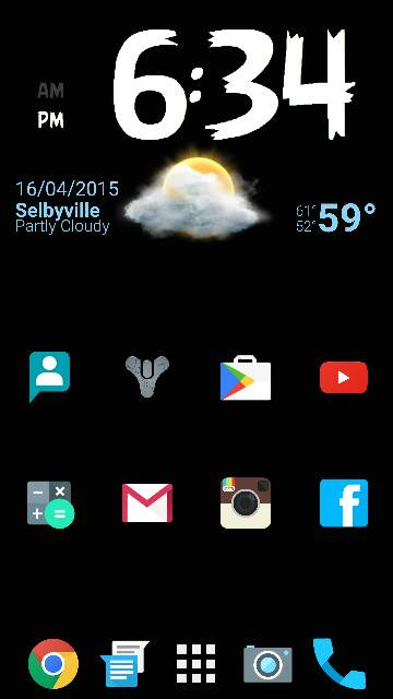 What are you using for your launcher? Any screen shots? Looking for very minimalistic-screenshot_2015-04-16-18-34-51.jpg