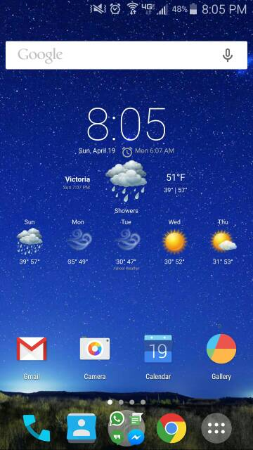 What are you using for your launcher? Any screen shots? Looking for very minimalistic-screenshot_2015-04-19-20-06-08.jpg