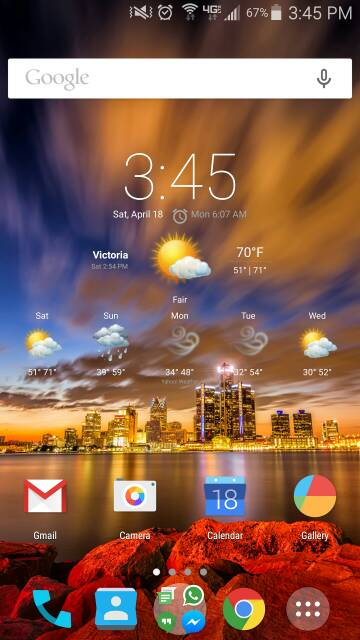 What are you using for your launcher? Any screen shots? Looking for very minimalistic-screenshot_2015-04-18-15-45-41.jpg