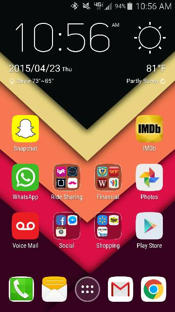What are you using for your launcher? Any screen shots? Looking for very minimalistic-screenshot_2015-04-23-10-56-17.jpg