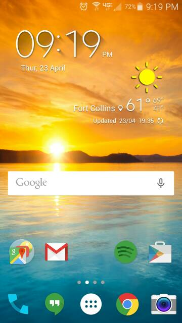 What are you using for your launcher? Any screen shots? Looking for very minimalistic-screenshot_2015-04-23-21-19-27.jpg